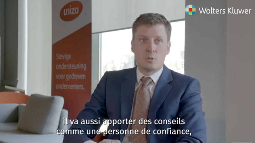 Loïc Van Staey (UNIZO) à propos des attentes des entrepreneurs envers leur comptable