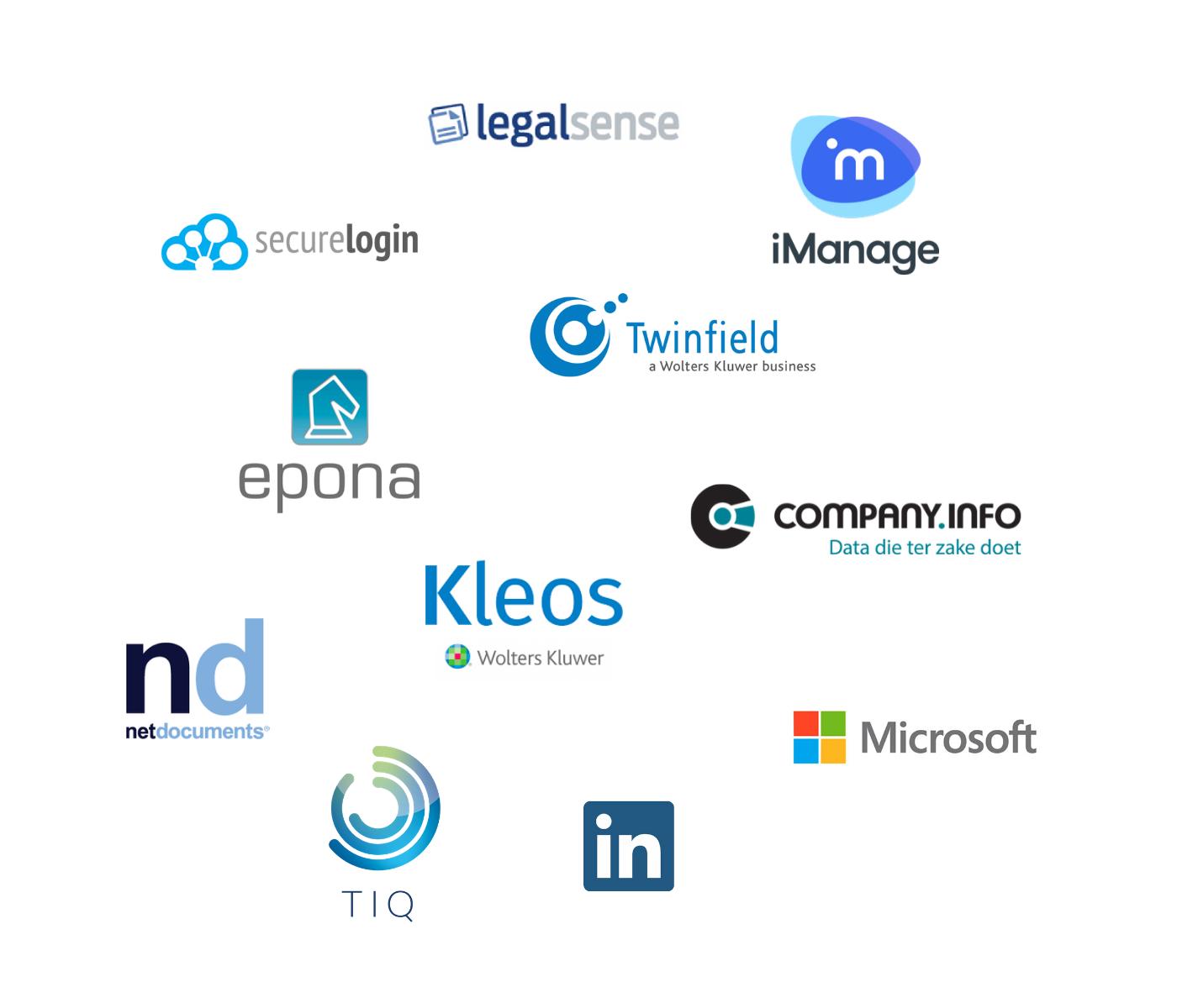 Integratie InView partner logo's