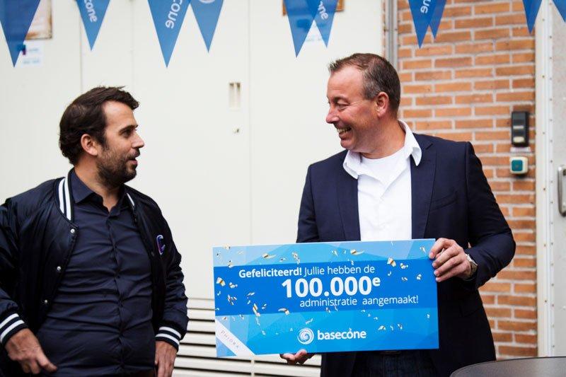 100.000 Basecone administraties