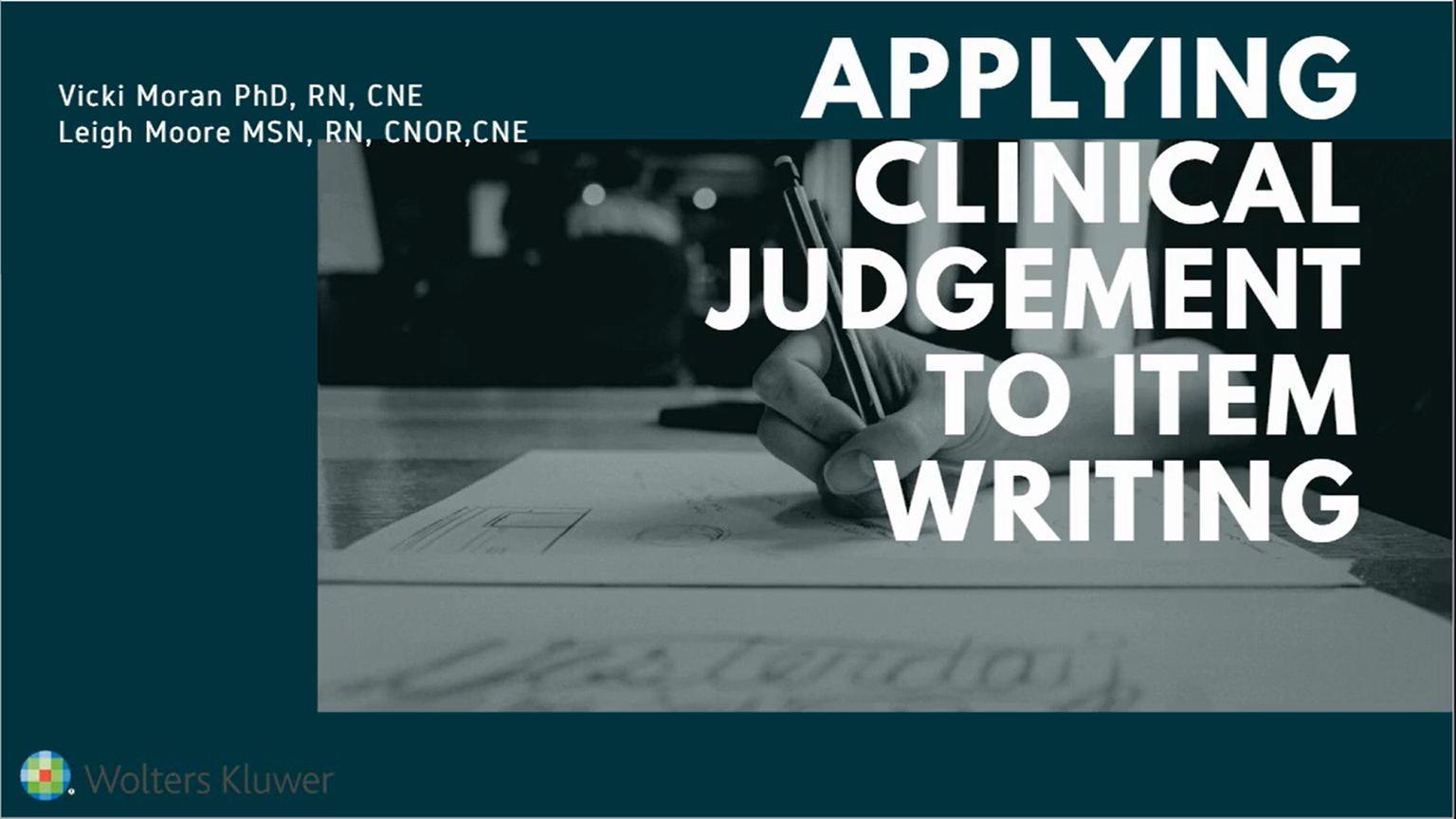 Screenshot of Applying clinical judgment to NCLEX item writing video