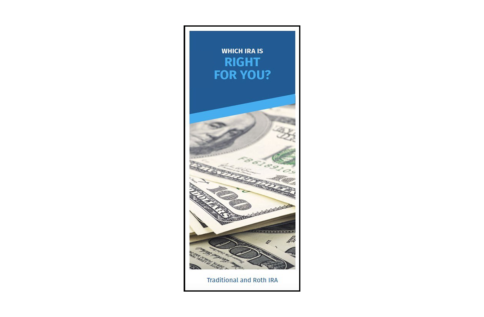 Which IRA is right for you brochure