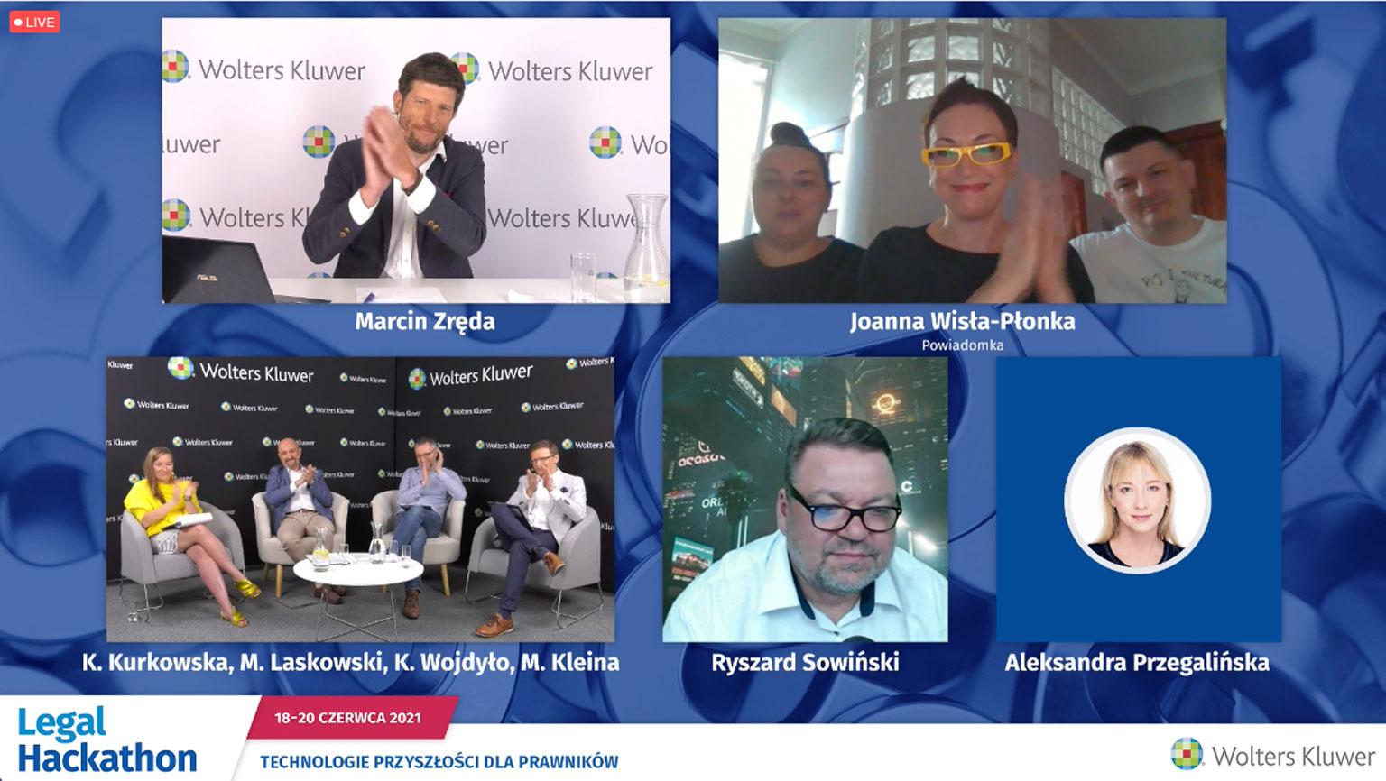 Legal Hackathon 2021 - zwycięzcy - Powiadomka