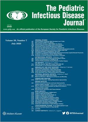 The Pediatric Infectious Disease Journal