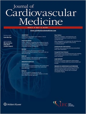Journal of Cardiovascular Medicine