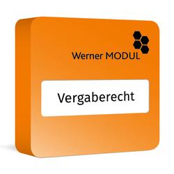 Vergaberecht Werner Modul