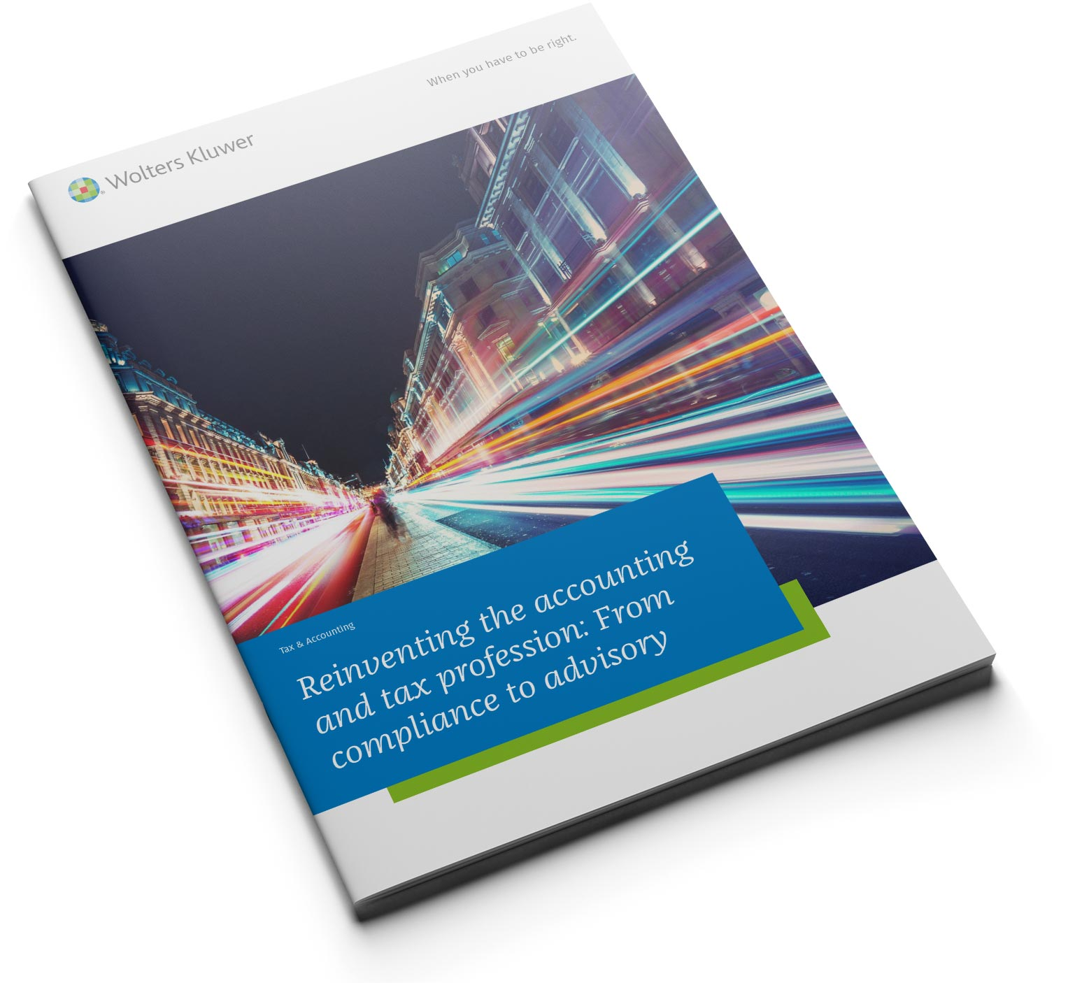 From compliance to advisory Whitepaper from Wolters Kluwer