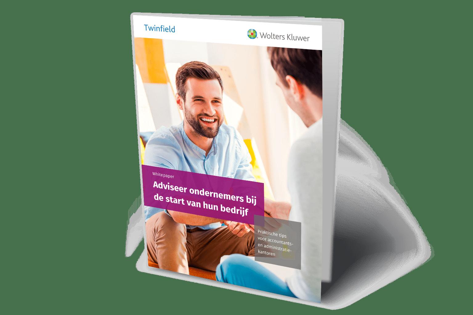 Cover whitepaper Adviseer ondernemers bij de start van een bedrijf