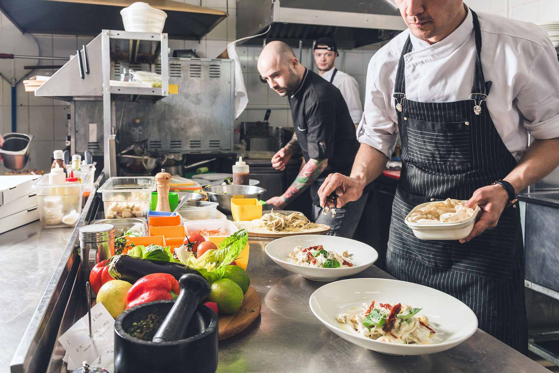 What are typical licensing requirements for new restaurants?