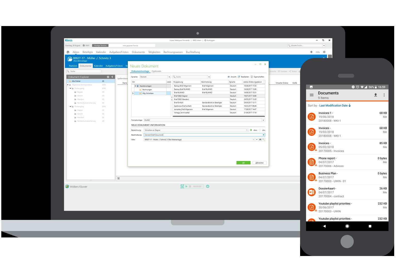 Kleos Document Email Management DE