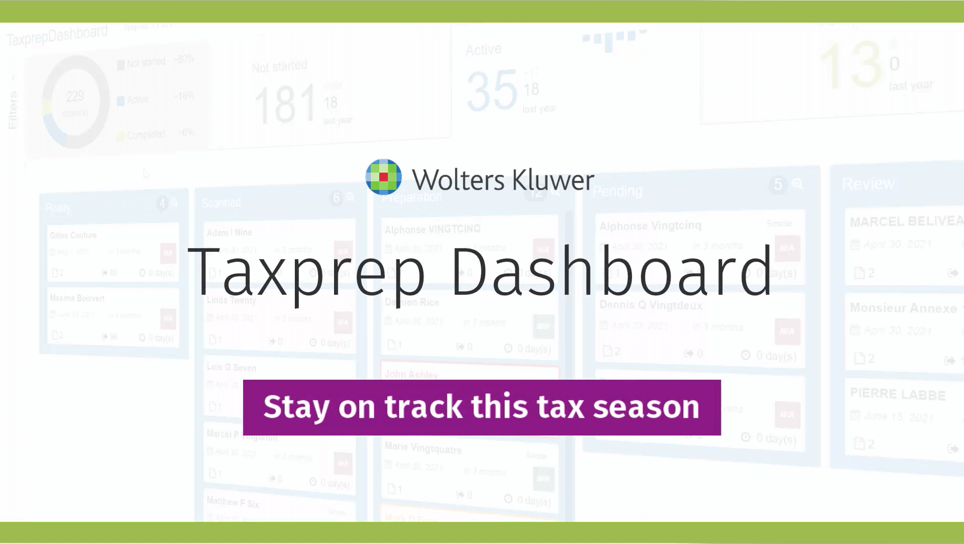 Taxprep Dashboard