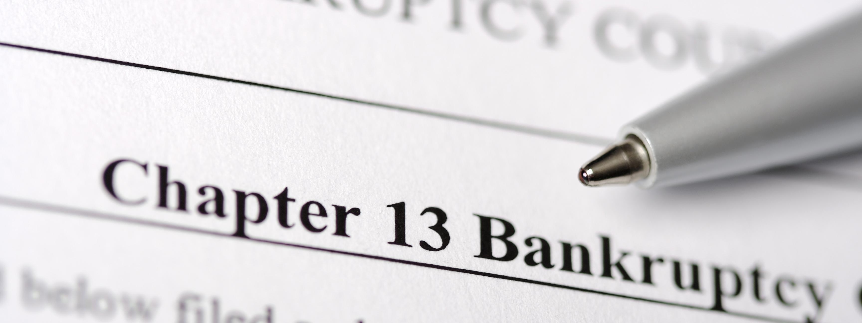 New Bankruptcy regulations