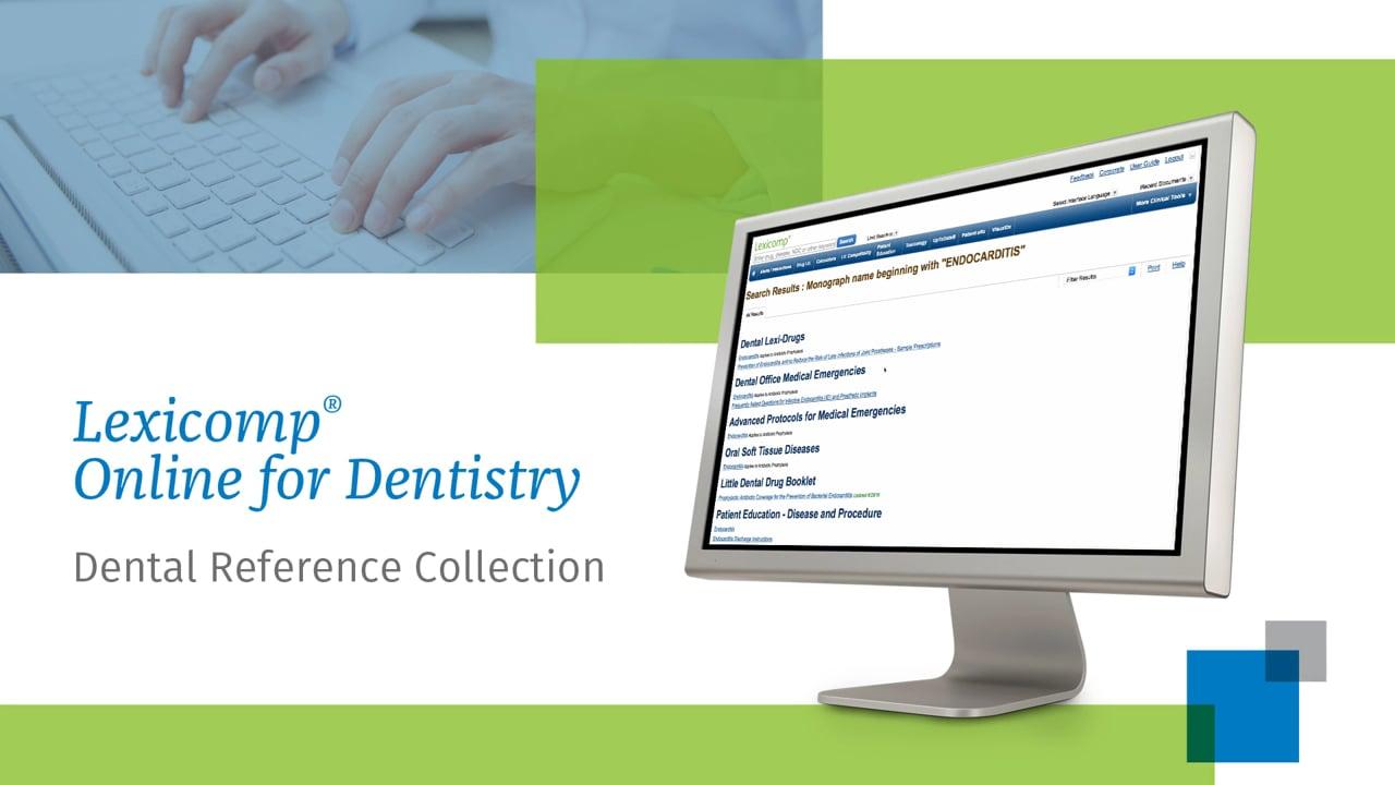 Lexicomp Dental Reference