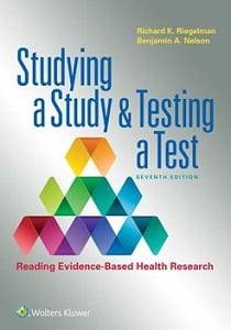 Studying a Study and Testing a Test book cover