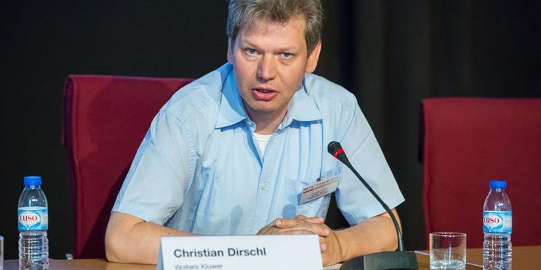 Christian Dirschl - wir sind auf dem Weg zu einer Datenökonomie
