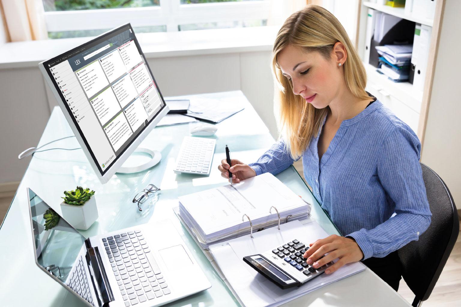 LEX Administracja, pakiet Księgowość lub Finanse