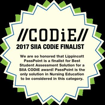 Codie 2017 SIIA Codie finalist badge
