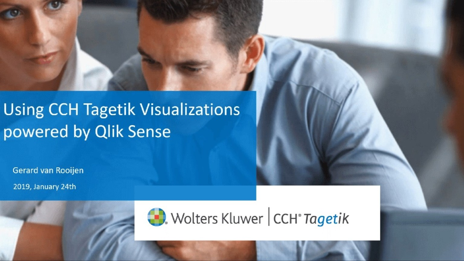 Using CCH Tagetik Visualizations Powered by Qlik Sense