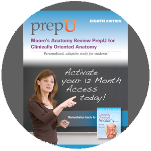 Moore's Anatomy Review PrepU