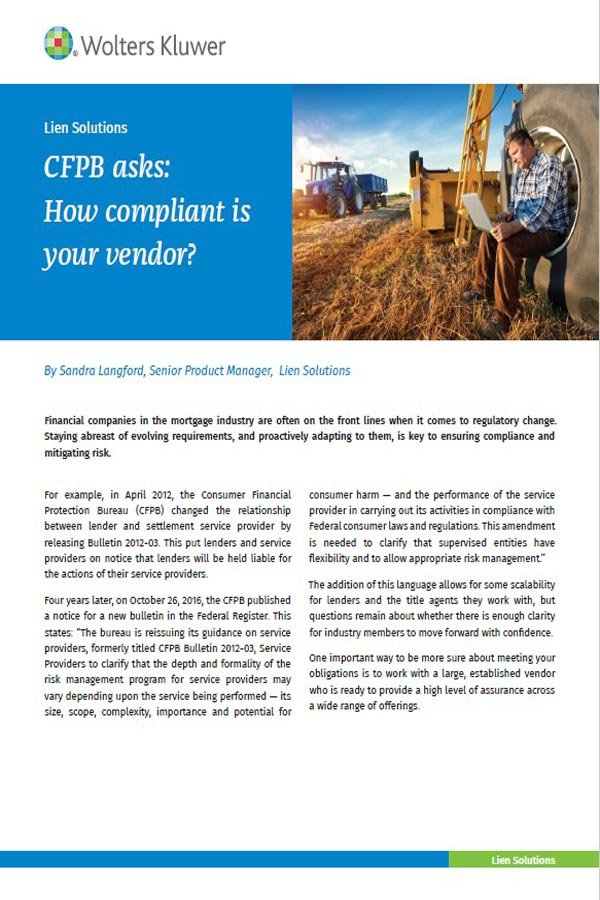 cover page for how to select the right vendor