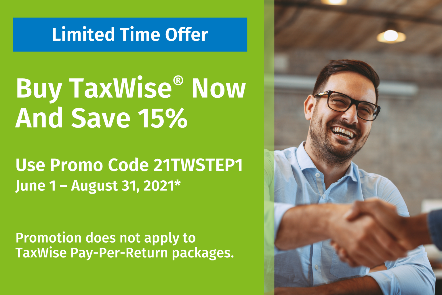 TaxWise 15% Off