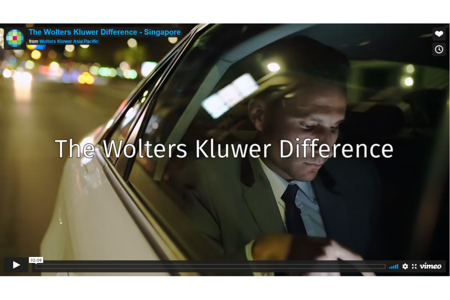 The Wolters Kluwer Difference Singapore