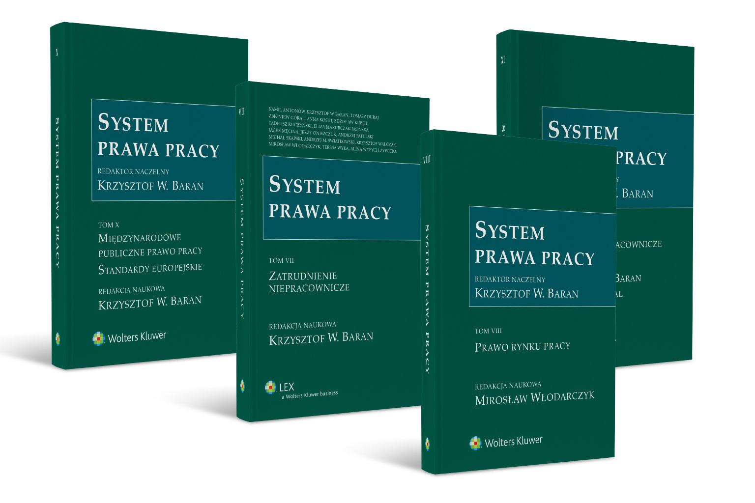 Obecnie dostępne w LEX tomy Systemu Prawa Pracy
