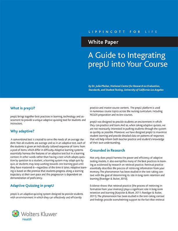 Image of the first page of the white paper