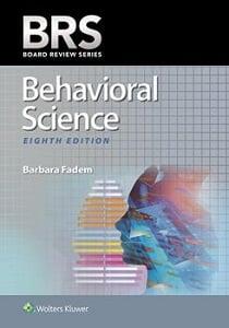 BRS Behavioral Science book cover