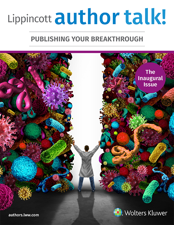 Lippincott author talk! magazine cover