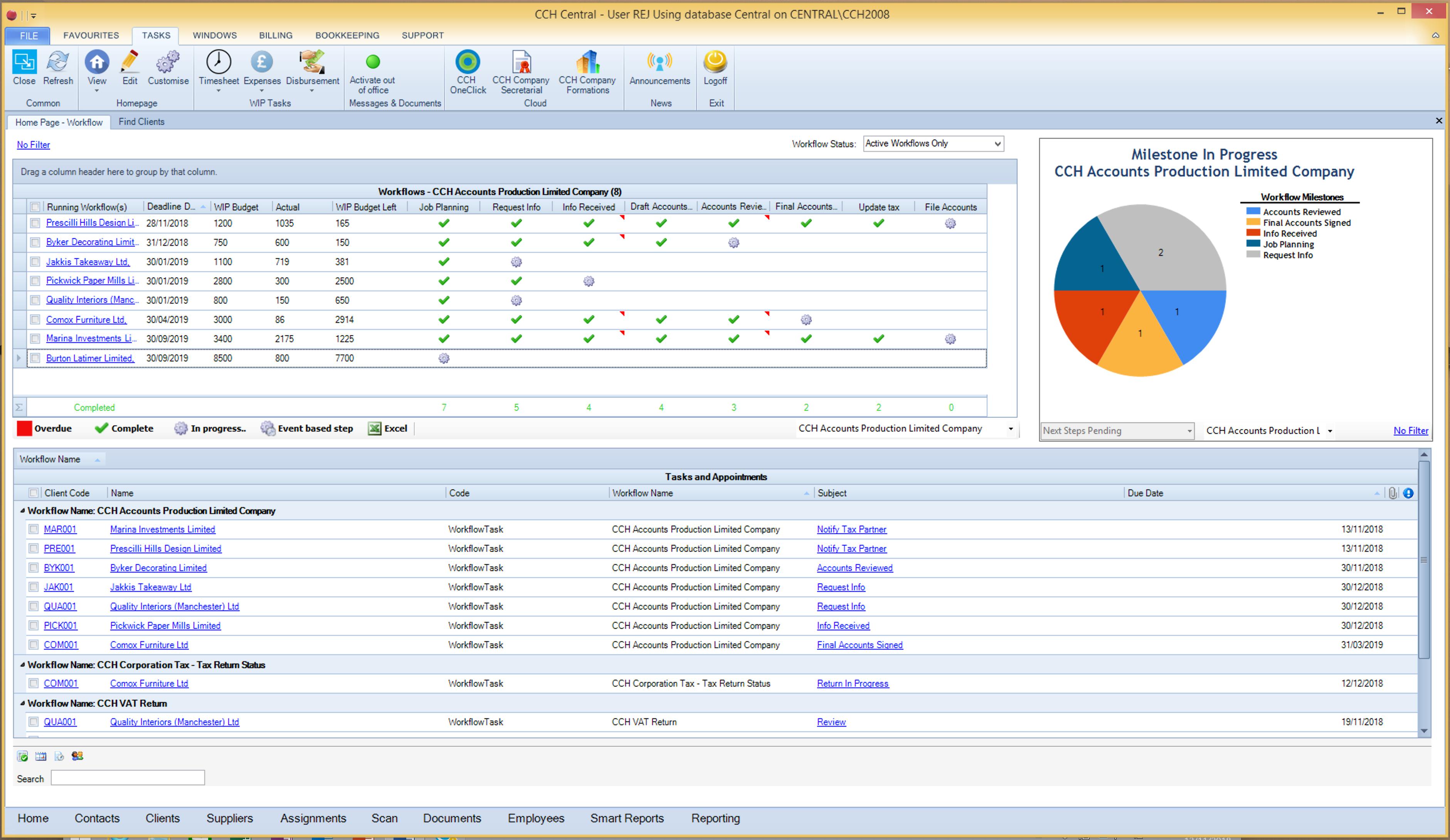 Automate routine processes through workflows