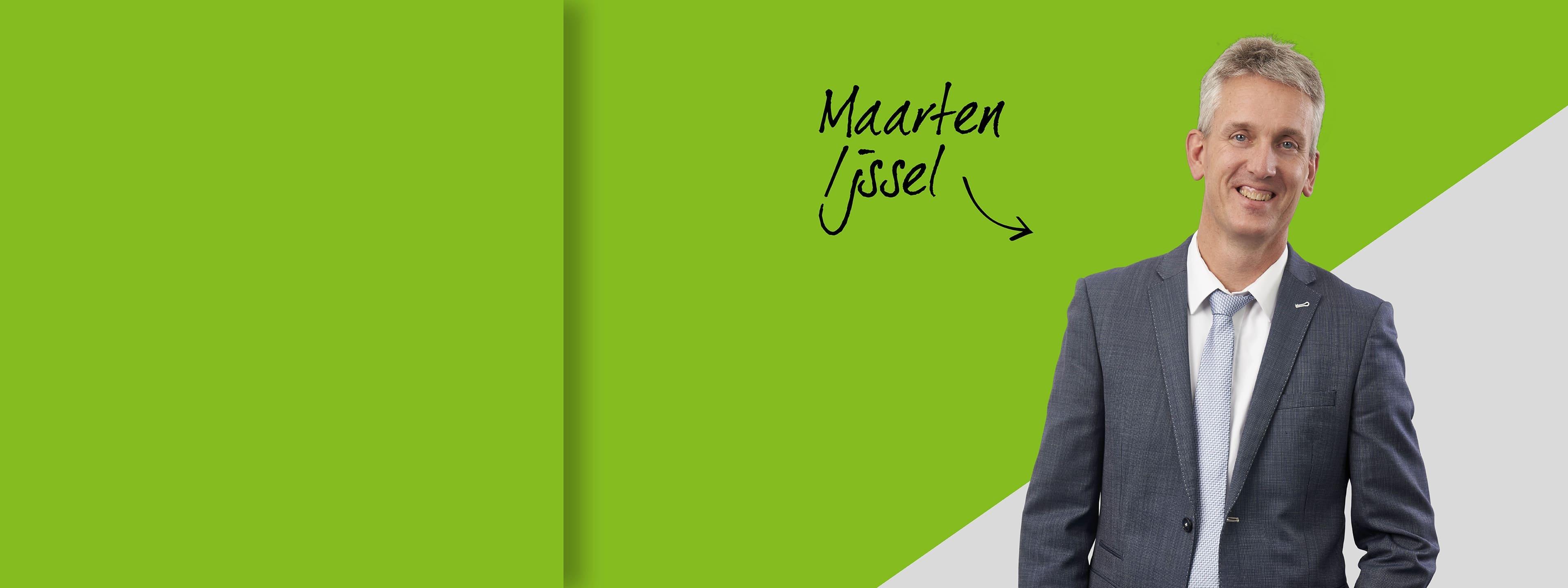 Maarten Ijssel, directeur Syscon