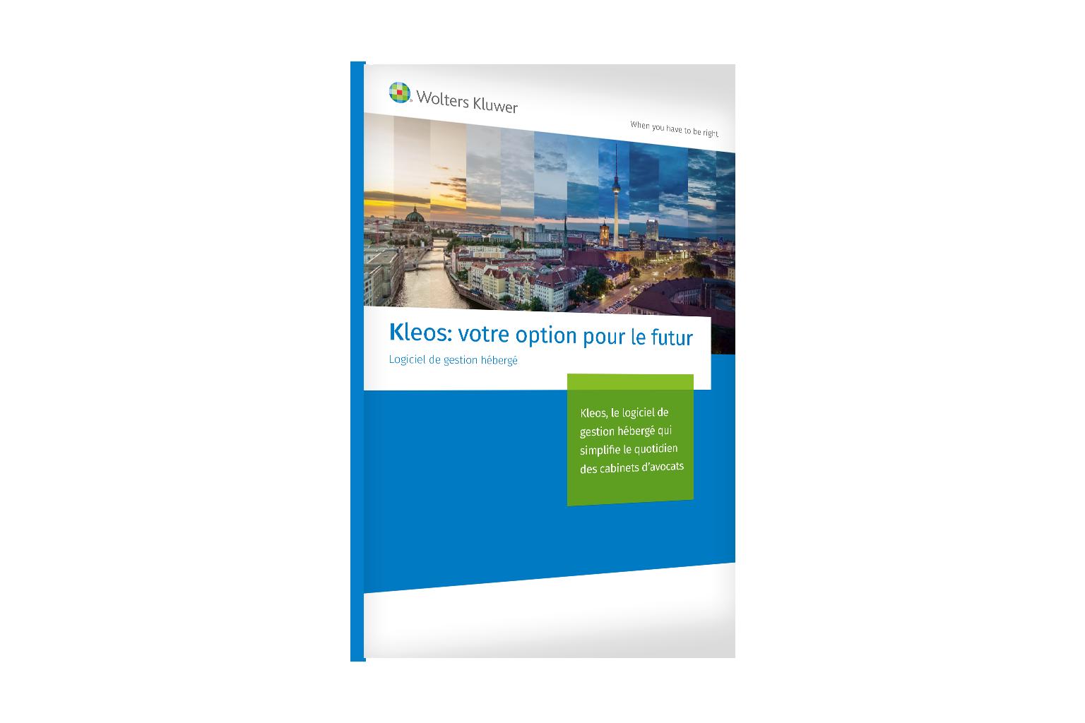 Kleos: votre option pour le futur - Logiciel de gestion hébergé