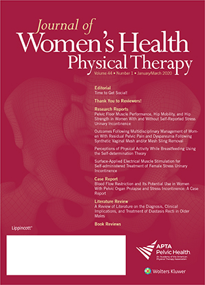 Journal of Women's Health Physical Therapy
