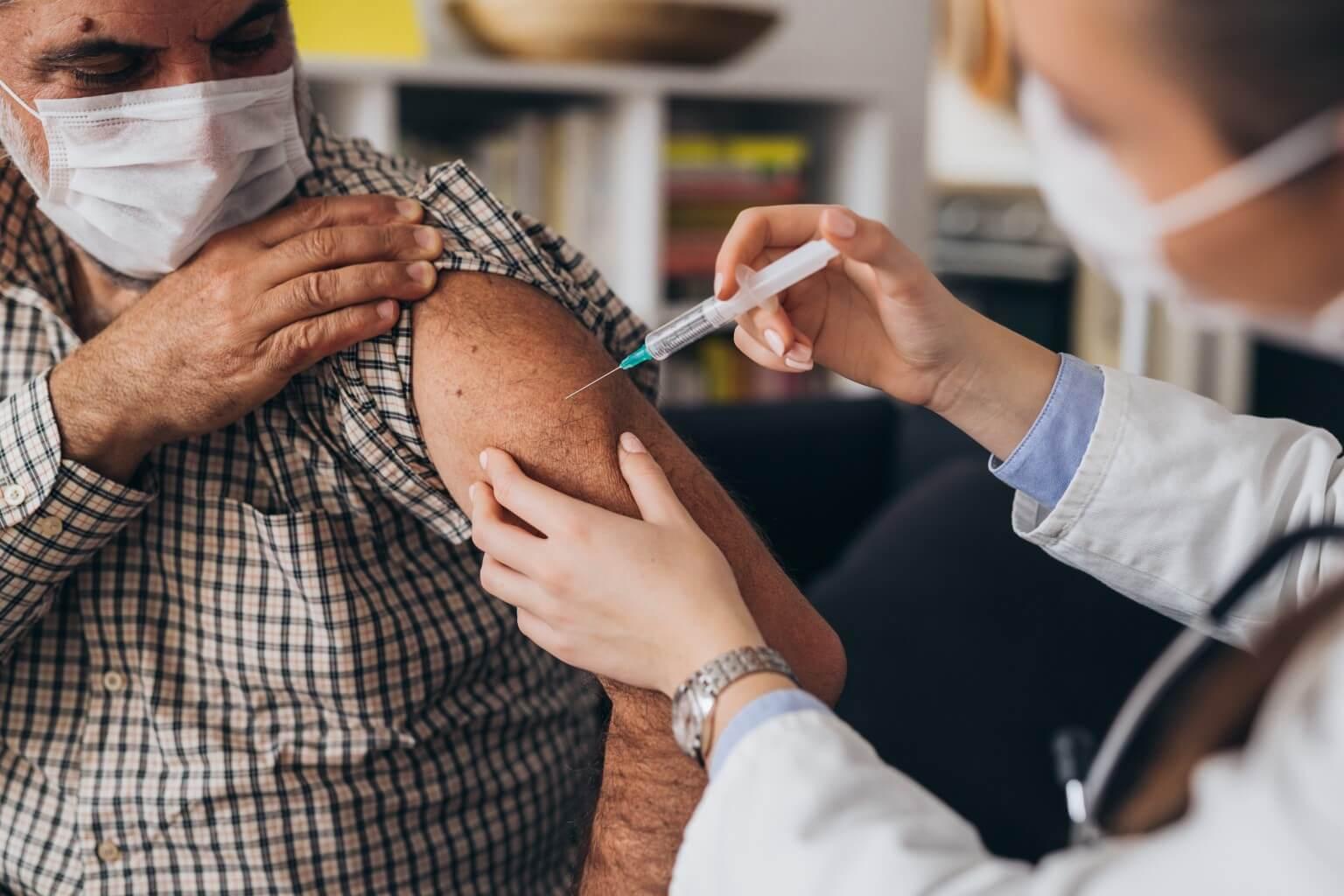 COVID-19 vaccine inhection