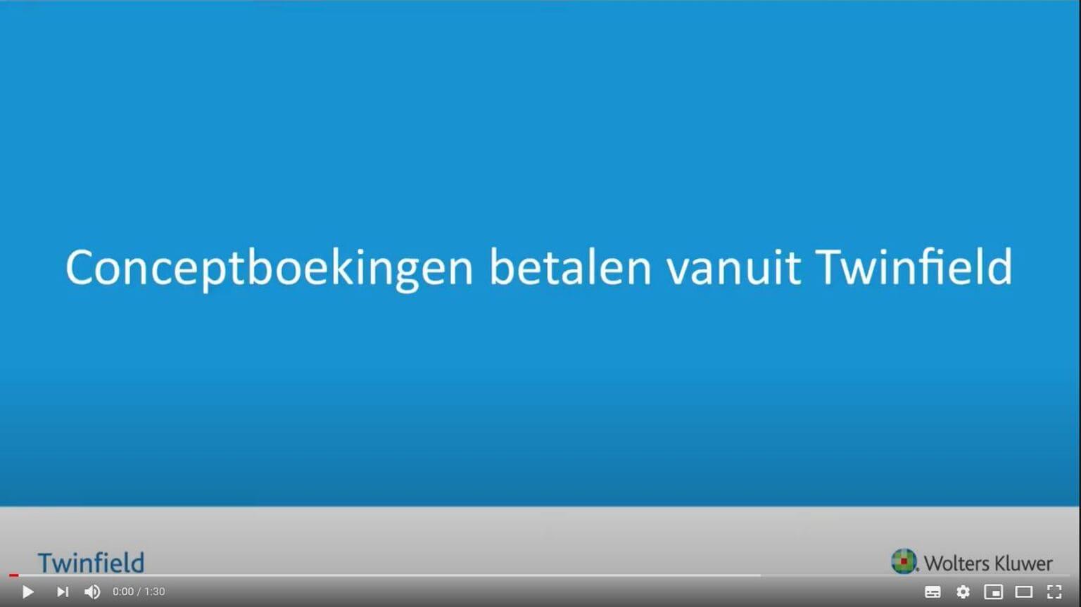 Conceptboekingen screenshot