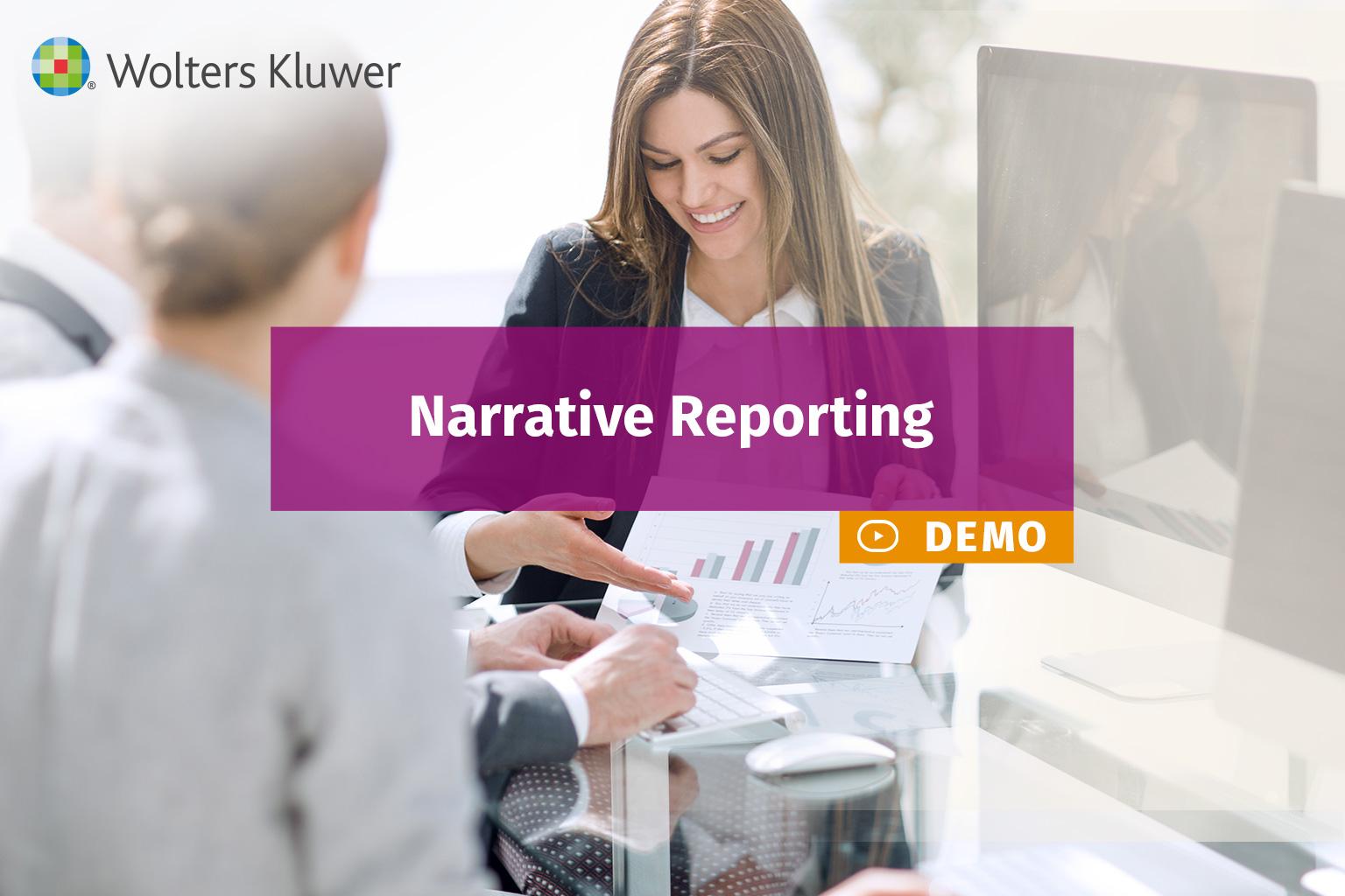 demo reporting