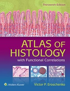 Atlas of Histology with Functional Correlations book cover
