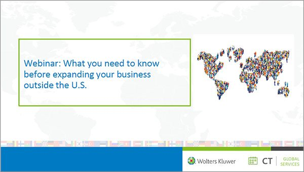 On-demand webinar: What you need to know before expanding your business outside the U.S.