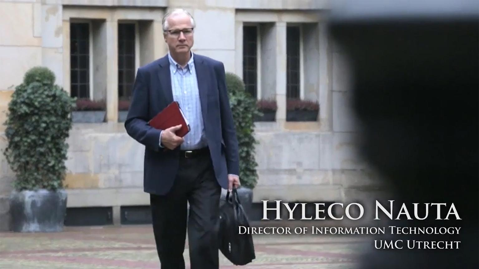 Screenshot of UMC Utrecht video