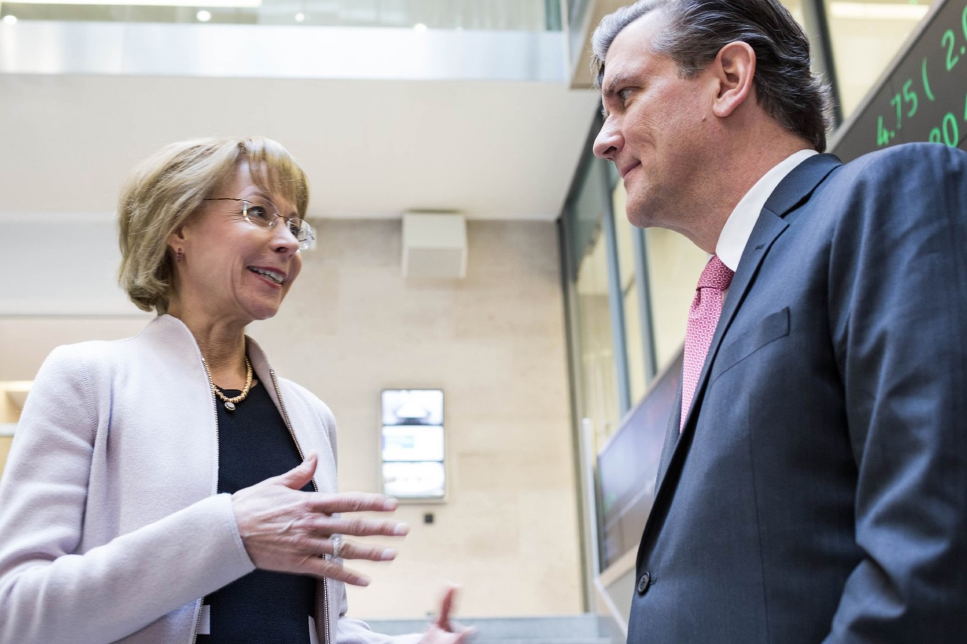 Wolters Kluwer Executive Board Nancy McKinstry and Kevin Entricken