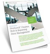 OneSumX Data Management Solution Primer