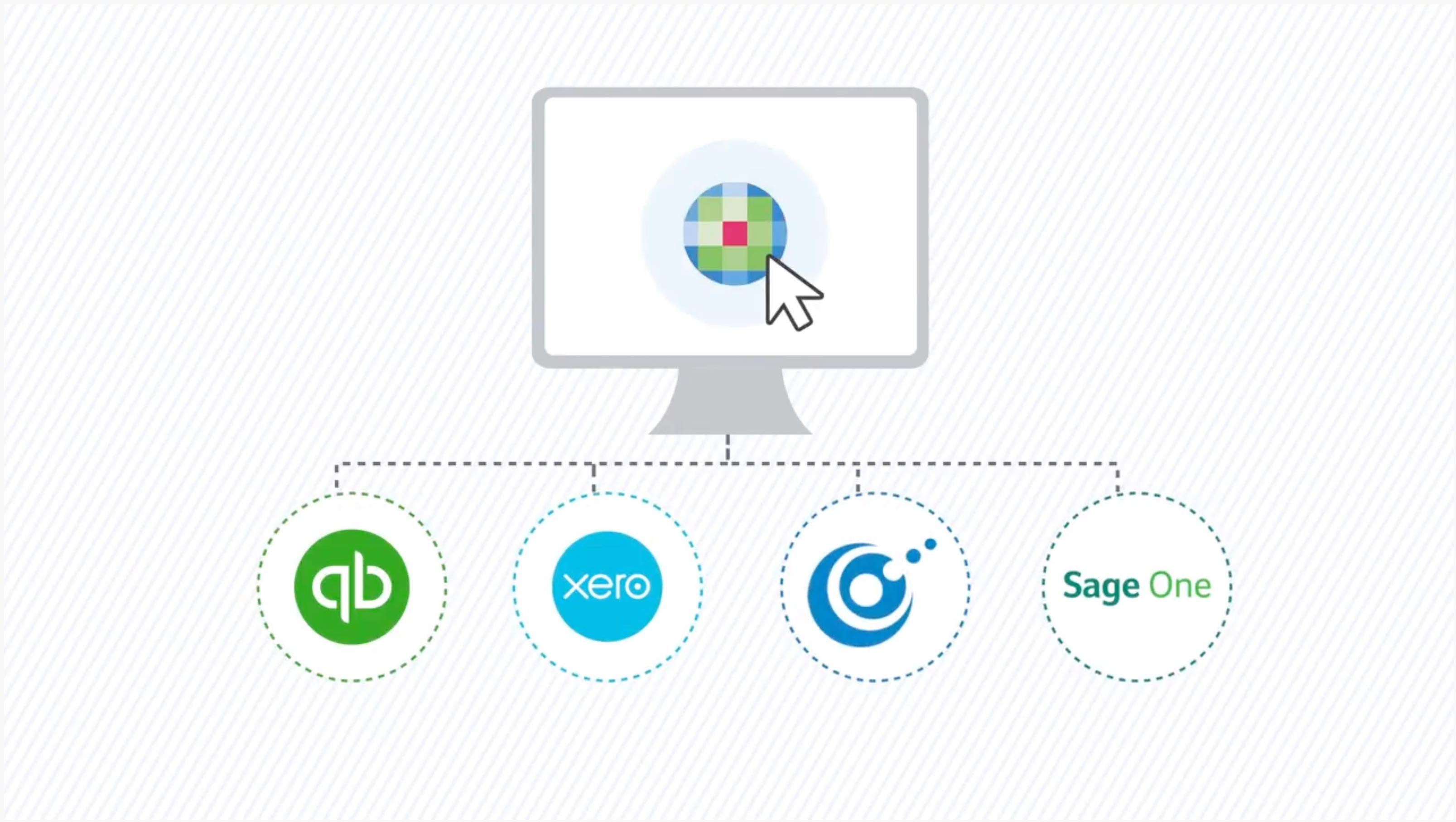 Open Integration within CCH OneClick - link directly to a wide range of bookkeeping systems