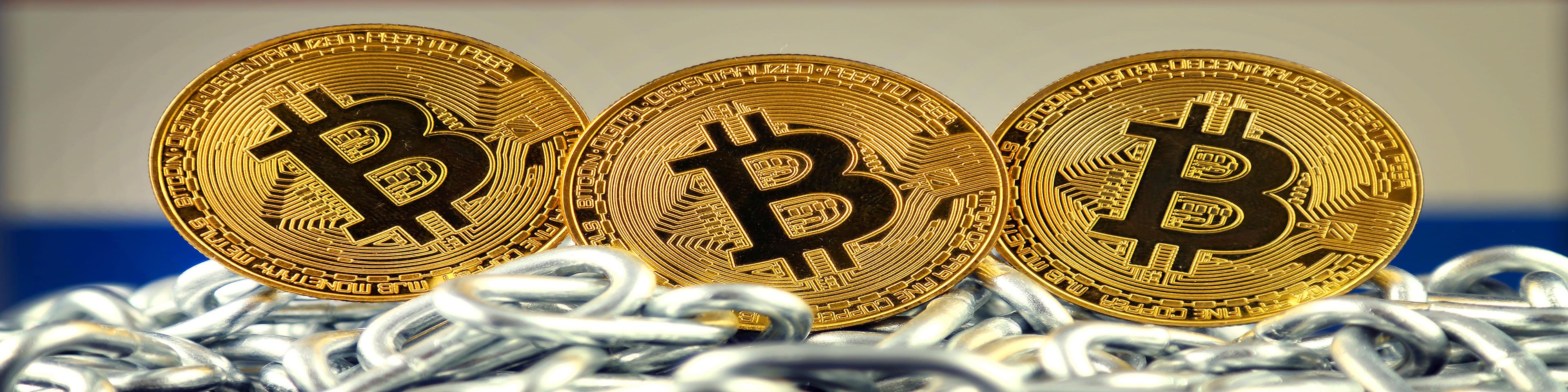 cryptocurrency met kettingslot