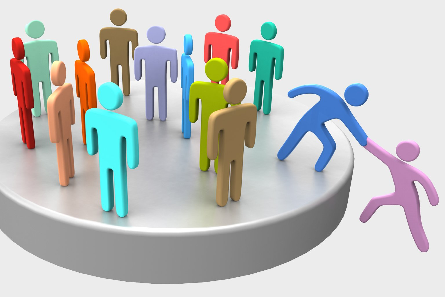 Help join up social business people