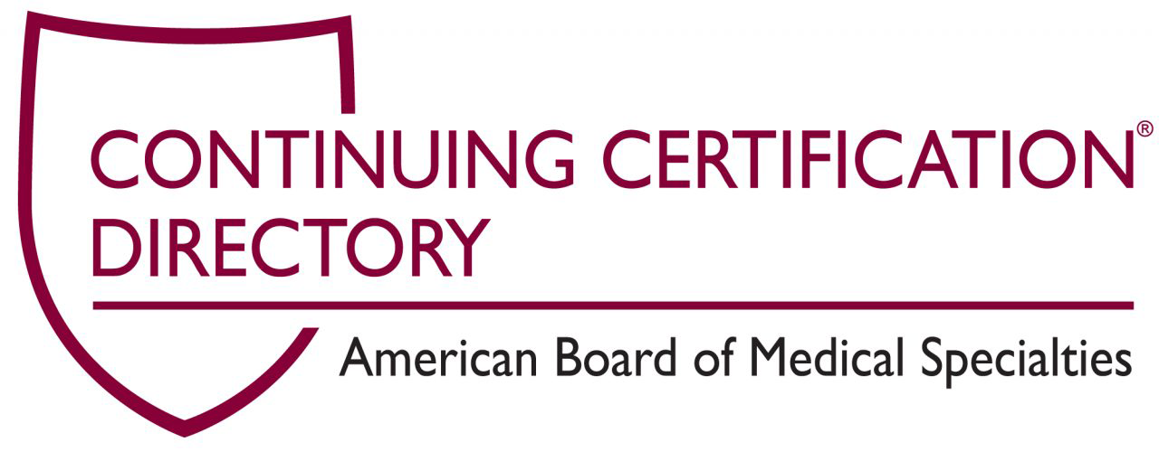 ABMS Continuing Certification Directory logo
