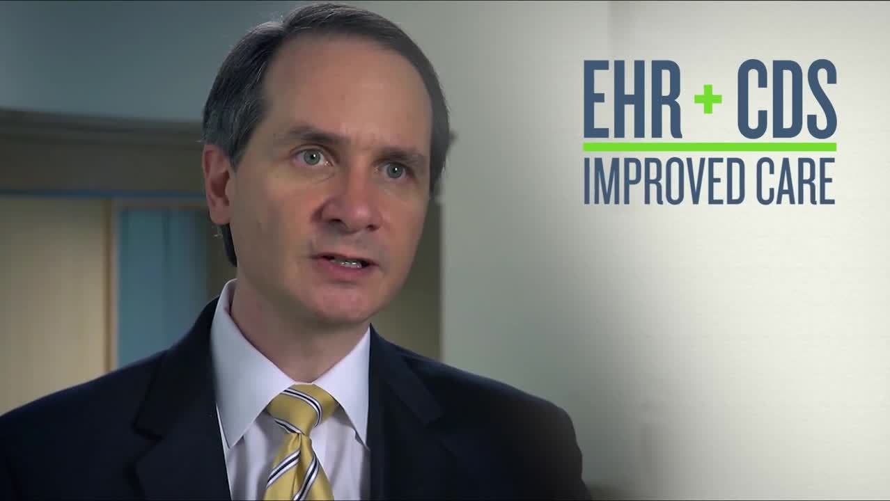 Screenshot of EHR and CDS Integration - Realizing the promise of HIT video