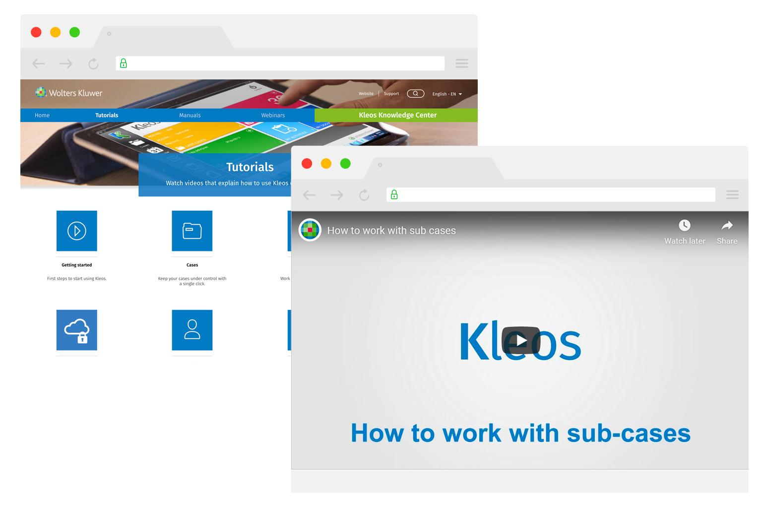 Kleos Support Learning EN