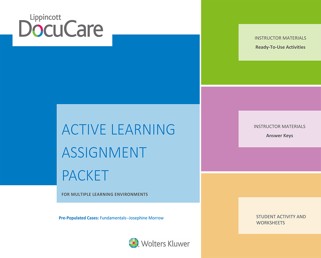 Active learning assignments packet cover