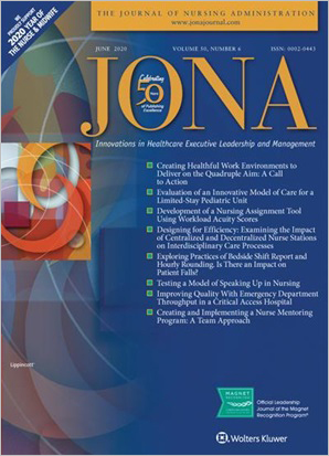 The Journal of Nursing Administration (JONA)