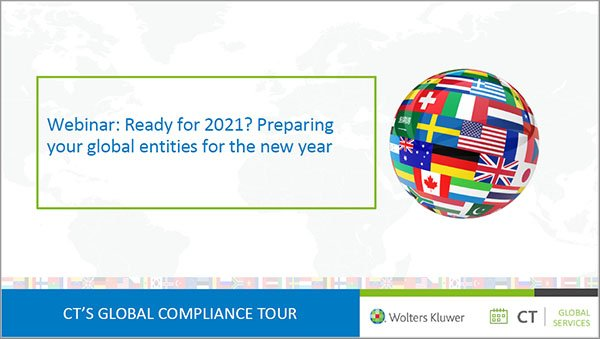 On-demand webinar: Ready for 20201?  Preparing your global entities for the new year
